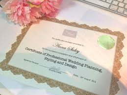 professional wedding planner great wedding planner certification la mode college fashion design