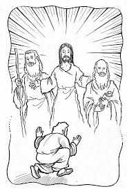 coloring page of jesus coloring page jesus transfiguration coloring page coloring page