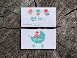 childcare business cards lambs childcare grigoangie personal network