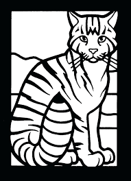 coloring pages cat picture color cute baby cat coloring pages