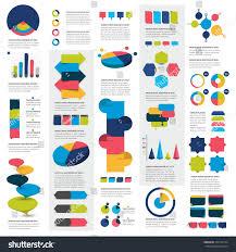 mega set infographics elements charts graphs stock vector mega set of infographics elements charts graphs circle charts diagrams speech bubbles