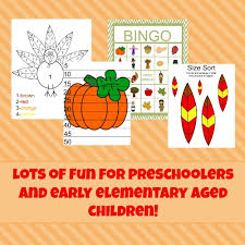 free fall and thanksgiving packets and printables homeschool den
