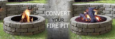 Wood Firepits How To Convert A Wood Pit To Gas Pits Direct