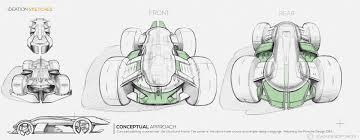 porsche cartoon drawing porsche 919 legend reincarnated autonomous u0026 vr racing on behance