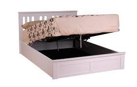Wood Ottoman Bed Sweet Dreams Coliseum 4ft 6 Double Wooden Ottoman Bedstead
