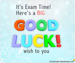luck for exams messages