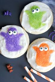 easy halloween cookies cute ghosts and witches u2013 fun squared