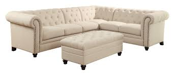button tufted sectional sofa klaussner flynn sofa tufted white