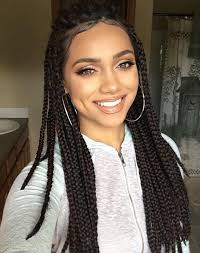 plaited hair styleson black hair box braids hair crochet 12 18 crochet hair extensions