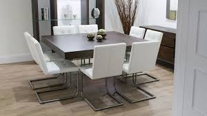 Glass Top Square Dining Table Square Glass Dining Table Top Modern Wood Set Legs Real