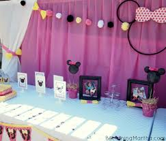 Minnie Mouse Table Covers Minnie Mouse Party Decor Becoming Martha