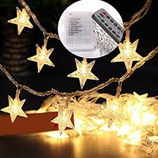 Outdoor Christmas Decorations Battery Operated Lights by Amazon Com Velice Battery Operated Warm White Led Fairy Lights 10