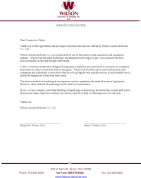 sample letter introducing your business letter idea 2018