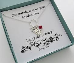 college graduate gifts graduation gift silver compass necklace retirement gift for