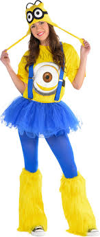 city costumes women s minion costume accessories party city