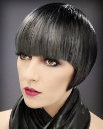 pictures of womens short dark hair with grey streaks 148 best pixie cut love it images on pinterest short