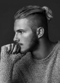 man with long hair top ponytail google search long hairstyles