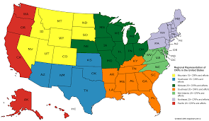 Cultural Regions Of The United States Map by Crps Crcs Arhe