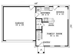 floor plan for small house floor plans small houses simple house 58246 plan 34055