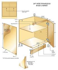 building kitchen base cabinets buildingbasecabinets illustration1 woodworking cabinets