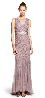 papell dress beaded mermaid gown papell