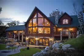 Log Homes Interior Designs Exciting Modern Log Cabin Interior Design In Addition To Picture