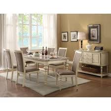 Dining Room Table Antique by Acme United Classic Contemporary Dining Room Furniture 7pcs Set