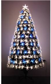 fibre optic twig christmas tree christmas lights decoration