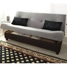 sleeper sofa bed with storage klik klak marvin sleeper futon with hidden storage sears sears