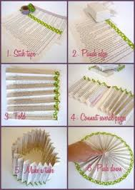 diy paper fans folding paper fans crafty fans and room