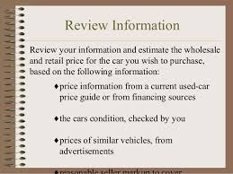 Used Car Price Estimation by Autosource Unlimited Llc How To Buy A Used Car