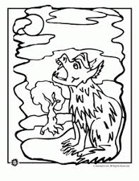 wolf coloring pages animal jr