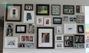 Gallery Wall Frames by Living Room Makeover Part 5 Gallery Wall The Turquoise Home