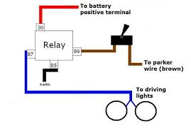 driving lights wiring diagram with relay driving wiring diagrams