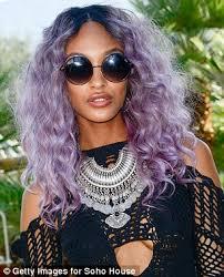 jordan dunn silver hair jourdan dunn displays her svelte frame in cut out playsuit at
