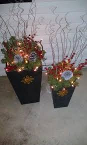 Christmas Ideas For Outside Planters by Outdoor Christmas Planter U2026 Pinteres U2026