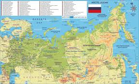Russia Time Zone Map by Russia Map