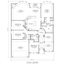4 bedroom one story house plans 4 bedroom single storey house plans 2500 fp luxihome