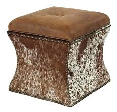 Ottoman S Marvelous Colored Leather Ottoman Taptotrip Me