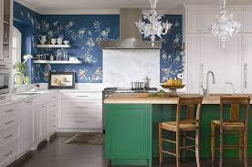colorful kitchen islands kitchens eclectic kitchen of color and pattern painting it