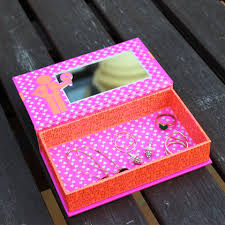 turn an benefit cosmetics kit into a place to store your