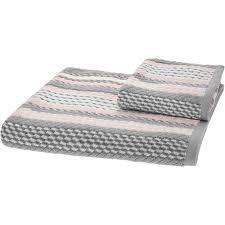 tk maxx bathroom mirrors caro home pink grey white striped towels tk maxx bathroom