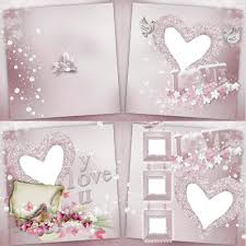 free love photo book psd free download
