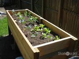 diy project vegetable planter box plans photos stark insider