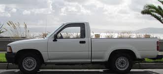 white toyota truck demand the supply i on alameda
