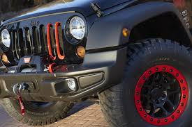 jeep wrangler red have a peek at the jeep wrangler level red concept the fast lane car