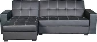 Modern Chaise Lounge Sofa by Belize 2 Piece Storage Futon With Chaise Black The Brick