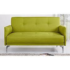 Yellow Sofa Bed Amazon Com Mid Century Colorful Linen Fabric Sofa Loveseat In