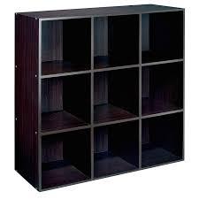 amazon com 9 cube storage unit shelf espresso baby