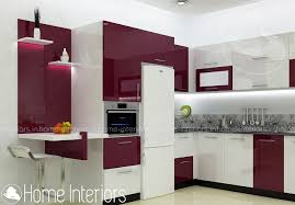 Kitchen Interior Contemporary Budget Home Kitchen Interior Design